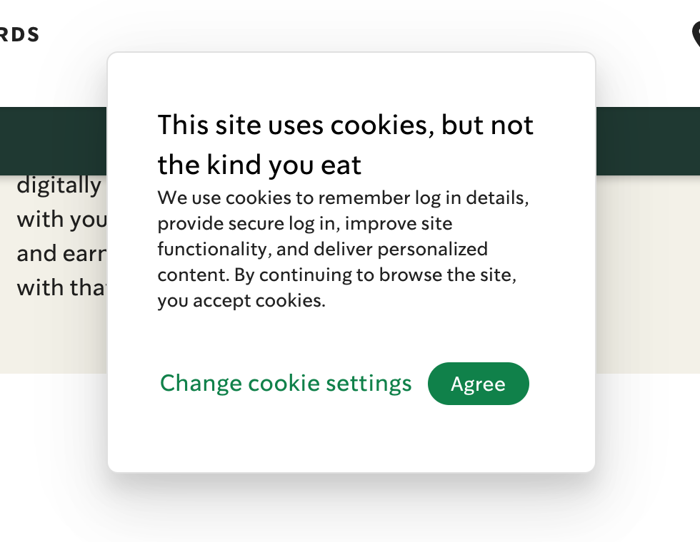 [This site uses cookies, but not the kind you eat]
