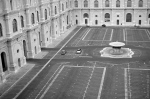 A piazza inside the Vatican