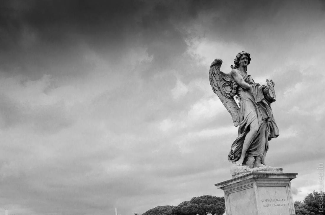 An angel in Rome